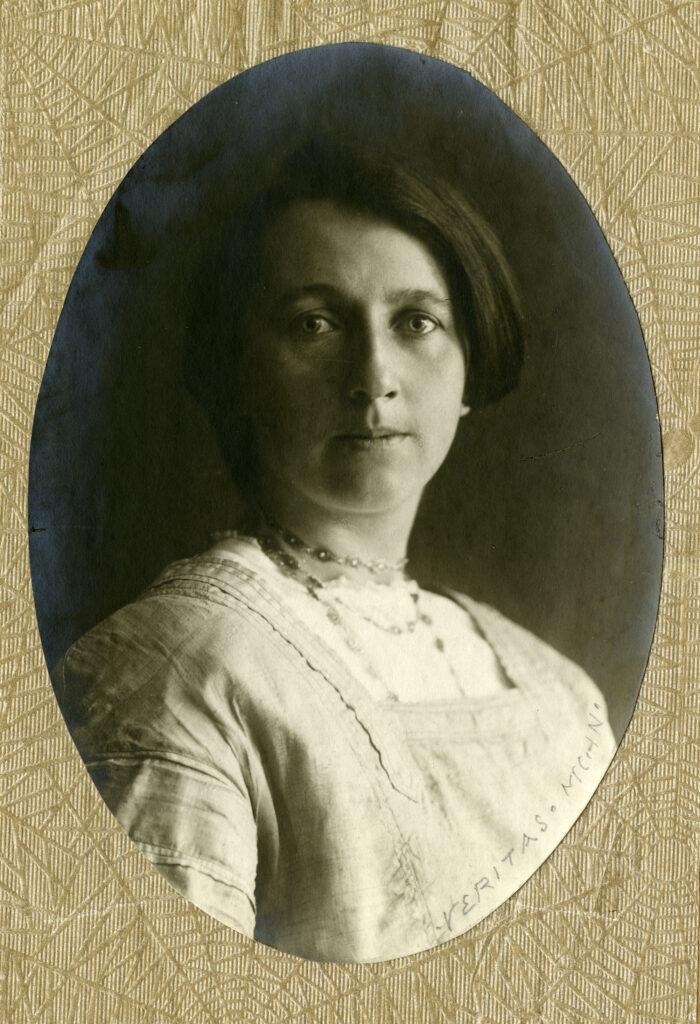 Portrait of Margarethe Faas-Hardegger